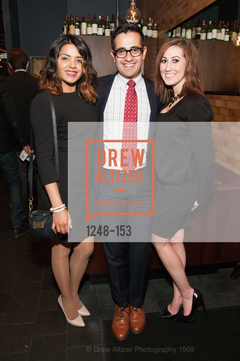 Simmi Dhaliwal, Jorge Colunga, Samantha Rojas, GLIDE's Power of One Lunch Countdown Party, RN74. 301 Mission St, June 4th, 2015,Drew Altizer, Drew Altizer Photography, full-service event agency, private events, San Francisco photographer, photographer California