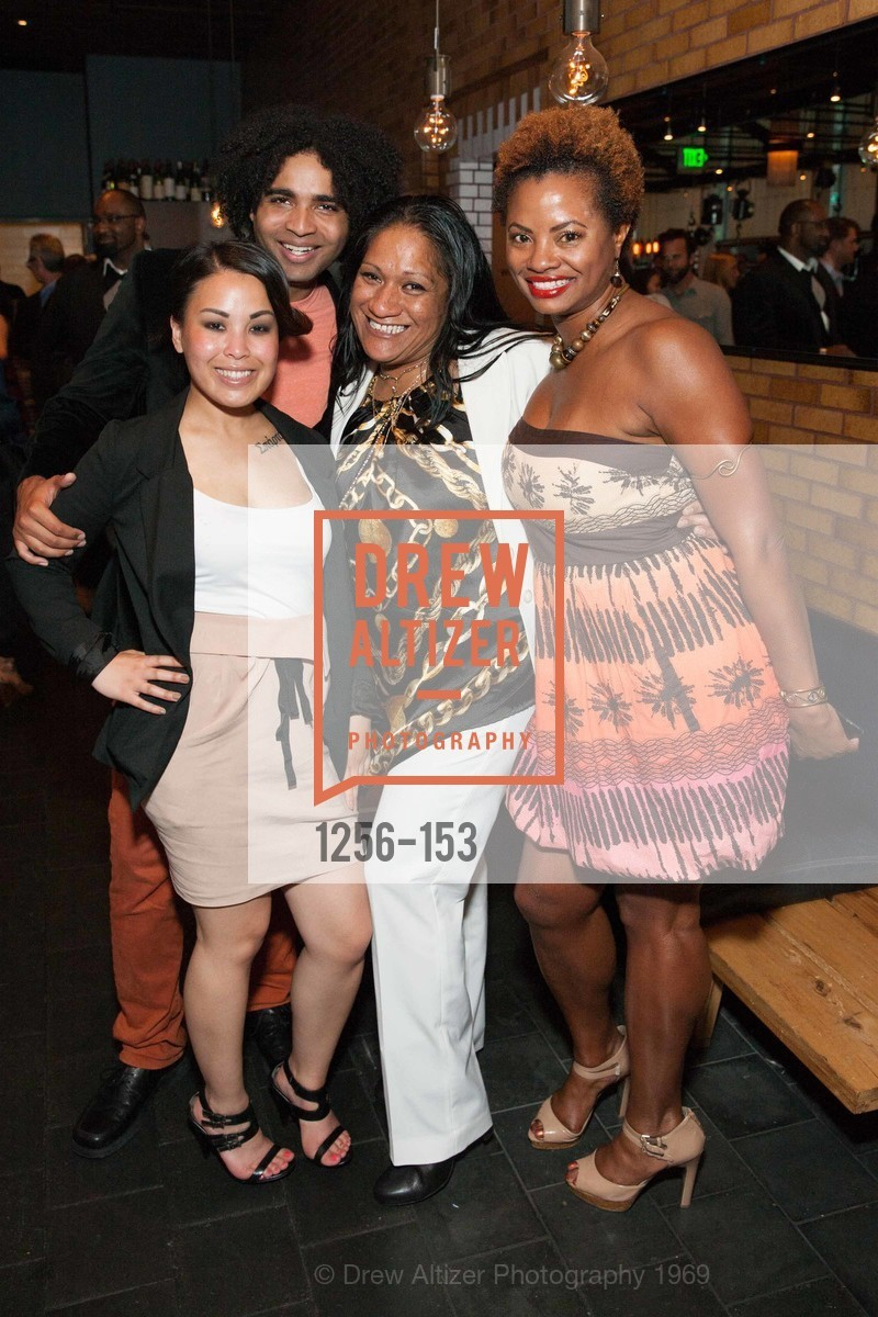 Bernadette Avellana, Chrisian King, Wessa Tanupo, Sonja Scott, GLIDE's Power of One Lunch Countdown Party, RN74. 301 Mission St, June 4th, 2015,Drew Altizer, Drew Altizer Photography, full-service agency, private events, San Francisco photographer, photographer california