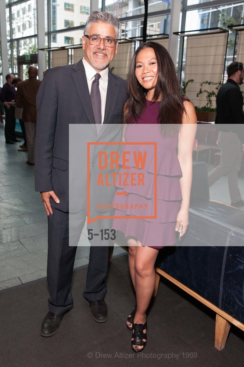 Supervisor John Avalos, Dori Caminong, GLIDE's Power of One Lunch Countdown Party, RN74. 301 Mission St, June 4th, 2015,Drew Altizer, Drew Altizer Photography, full-service agency, private events, San Francisco photographer, photographer california