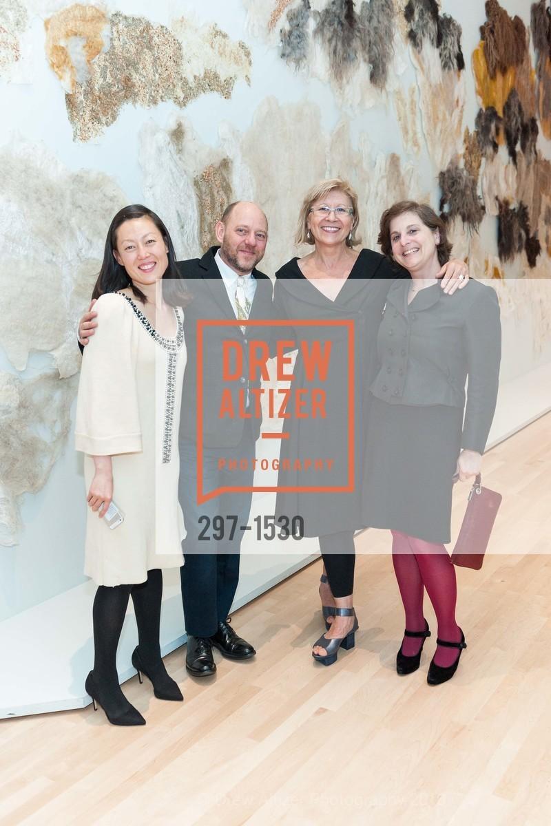Nancy Lim, Roger Griffith, Olga Charychyn, Laura Hoptman, Photo #297-1530