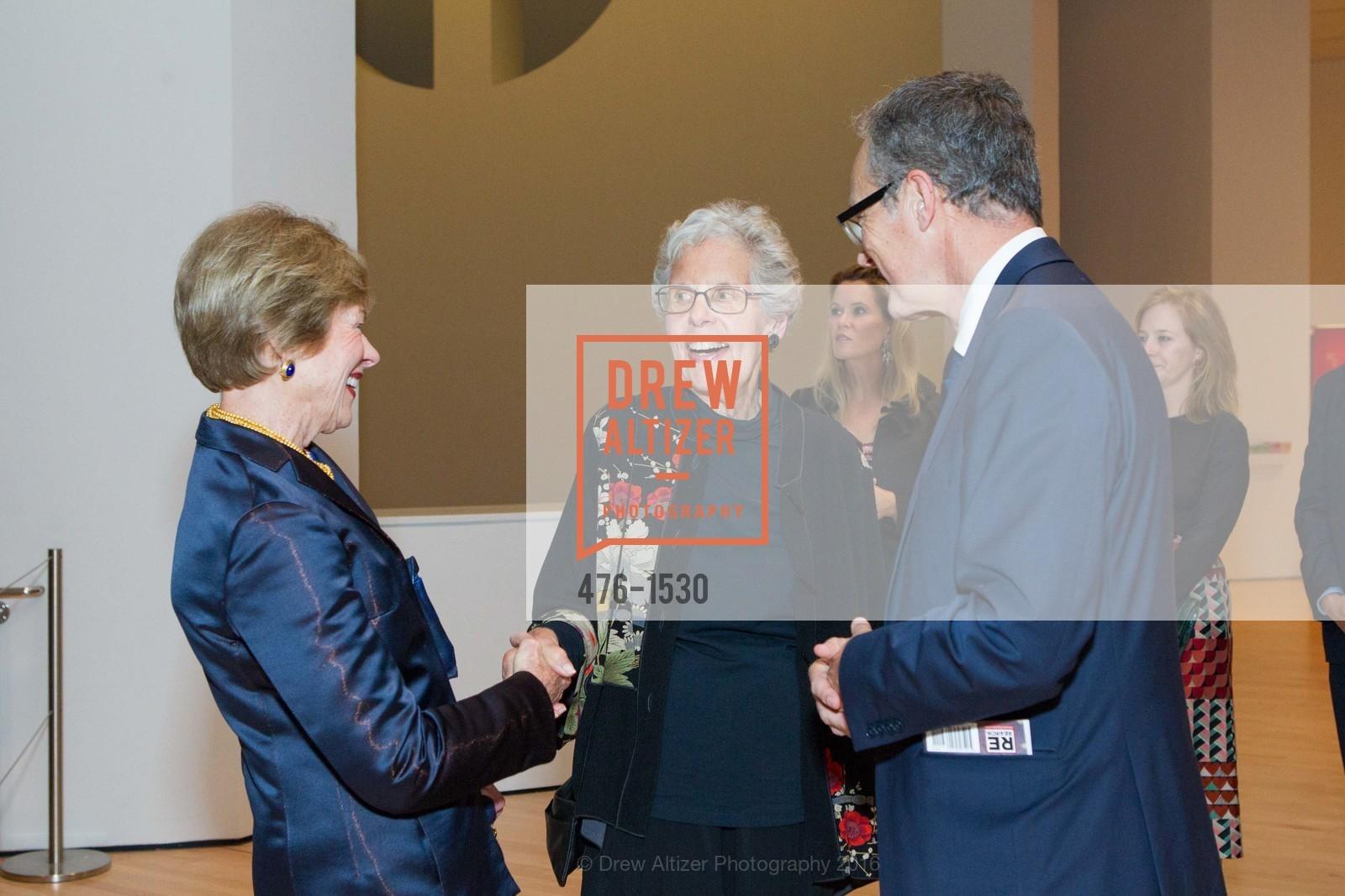 Pam Kramlich, Jean Conner, Rudolf Frieling, Photo #476-1530
