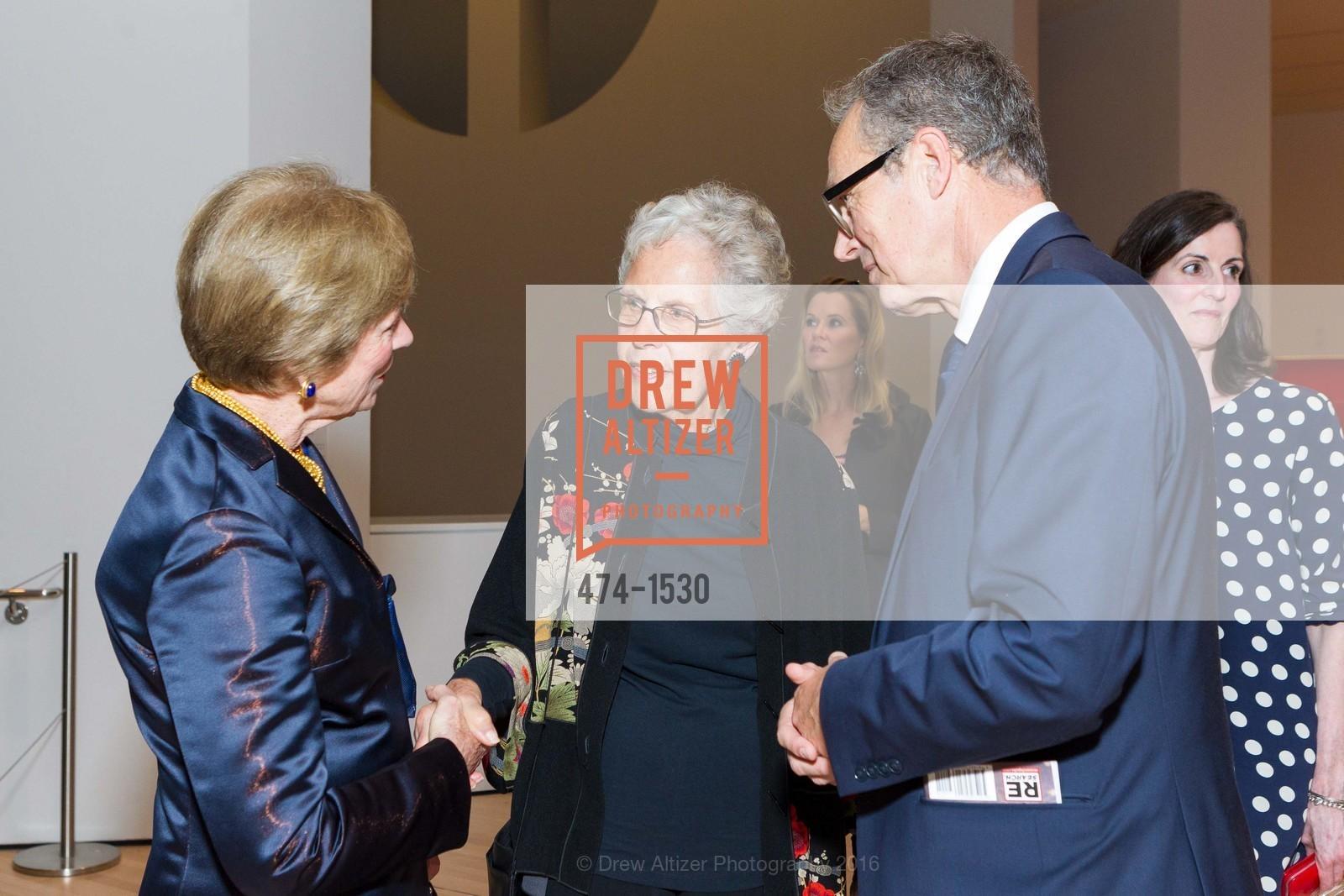 Pam Kramlich, Jean Conner, Rudolf Frieling, Photo #474-1530