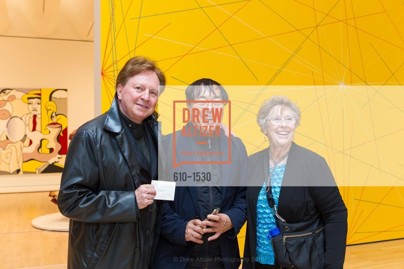 Gerald Casale, Vee Vale, Joan Conner, Photo #610-1530