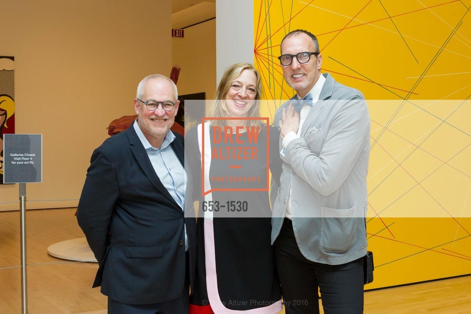 Gary Garrels, Ana Roth, Maynard Monrow, Photo #653-1530