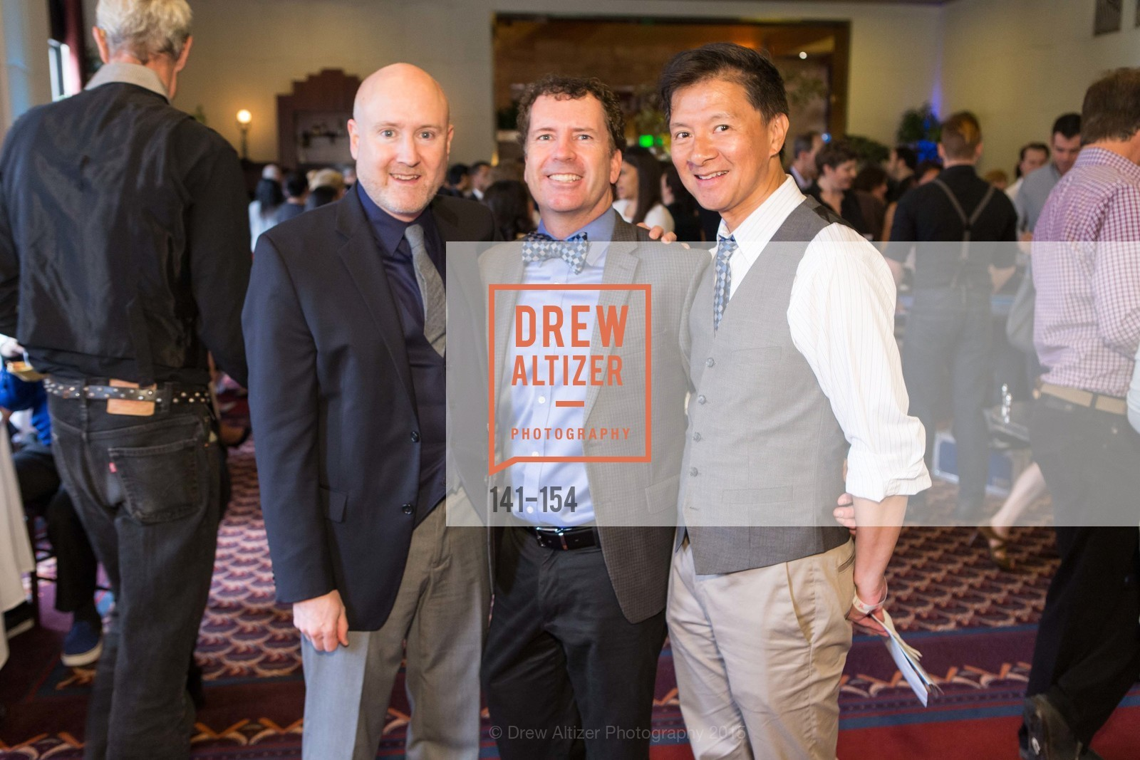 Andrew Utiter, Michael Hughes, Marty Fung, Double Down for Shanti, The City Club. 155 Sansome Street, June 6th, 2015,Drew Altizer, Drew Altizer Photography, full-service agency, private events, San Francisco photographer, photographer california
