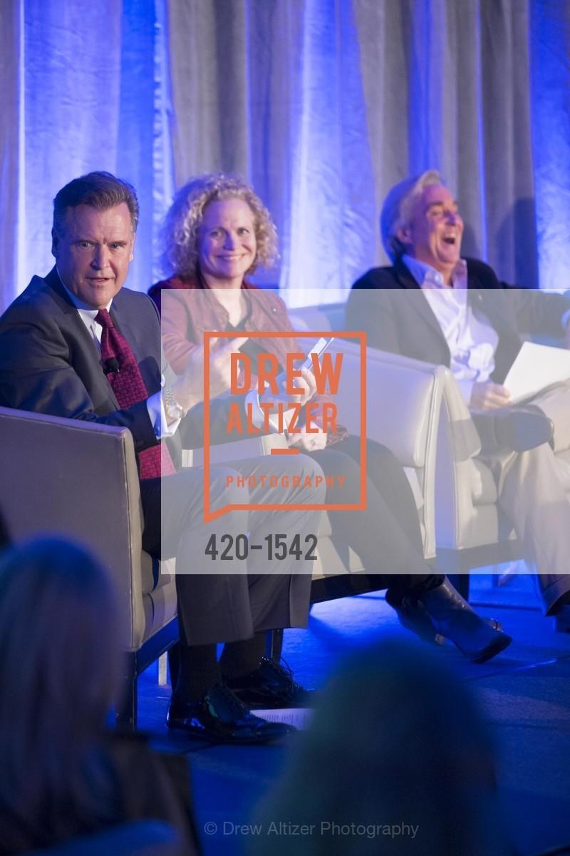 Frank Somerville, Meg LeFauve, Jim Steyer, Photo #420-1542