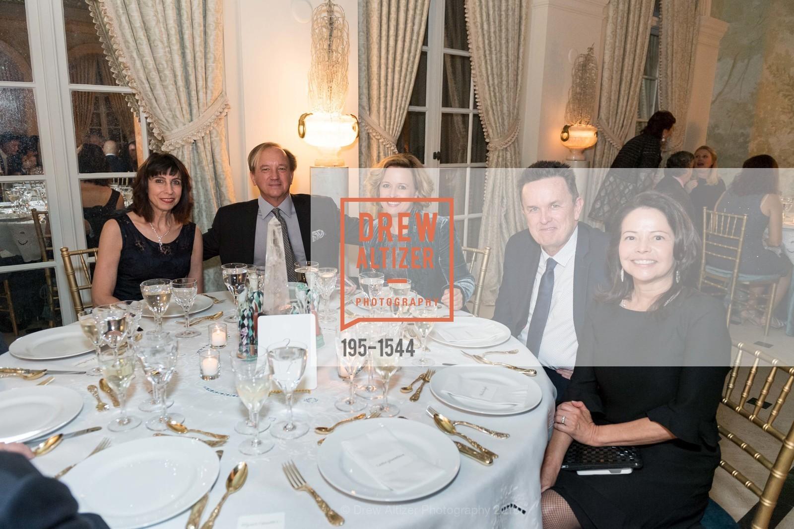 Jasmine Madatian, Peter Boyd, Monica Barrows, Mike Regan, Sheila Boyd, Photo #195-1544