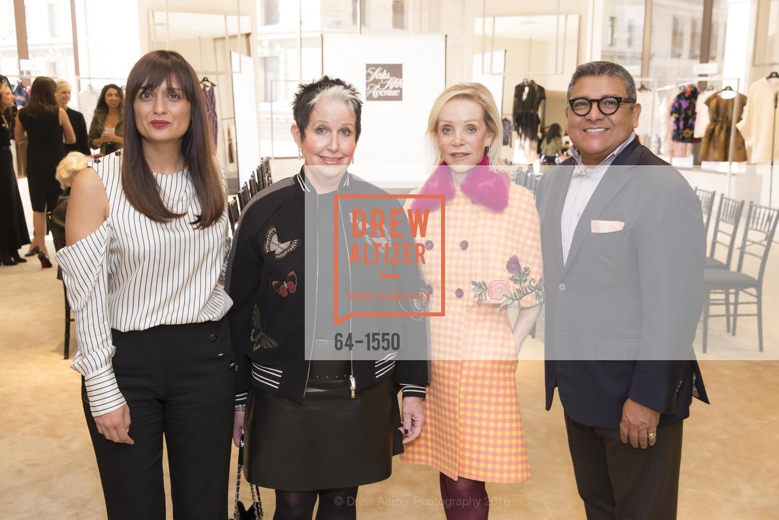 Roopal Patel, Karen Kubin, Barbara Brown, Riccardo Benavides, Photo #64-1550