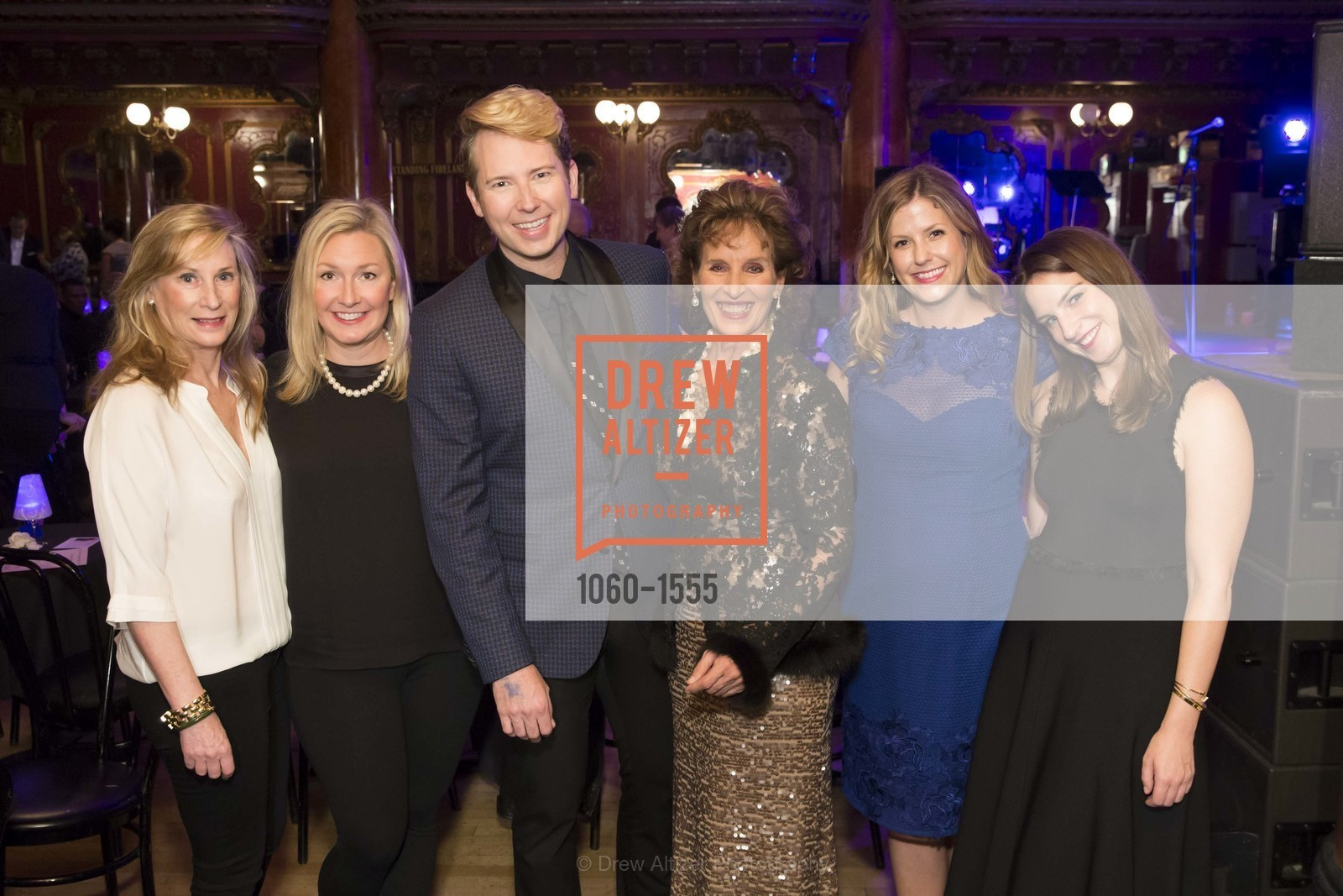 Sara Duryea, Kelsey Phelps Finch, Shawn Ryan, Andrea Marcovicci, Lily Bowles Leo, Kathryn Duryea, Photo #1060-1555
