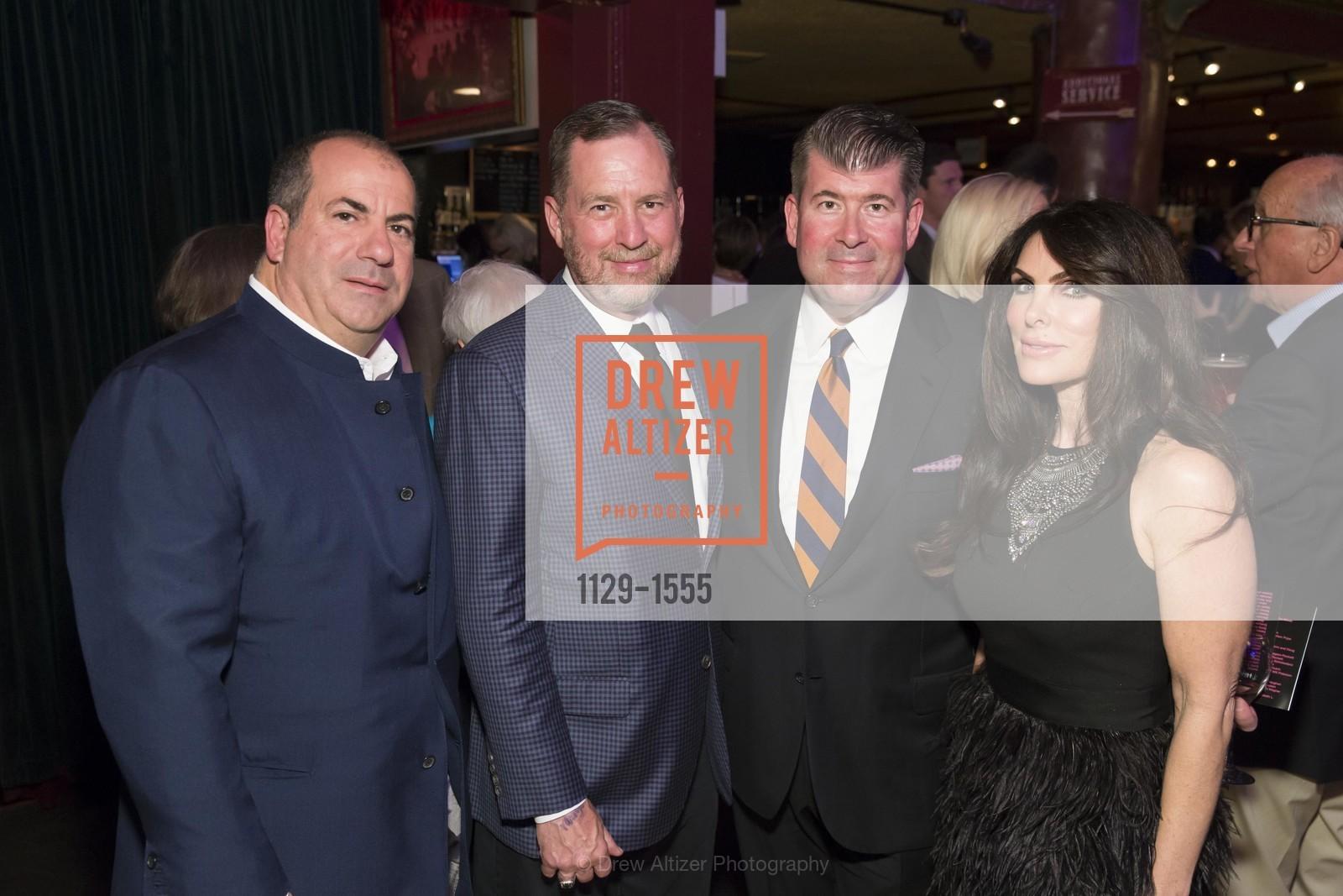Todd Zabelle, Mike Jenoshe, Alan Morrell, Lisa Zabelle, Photo #1129-1555