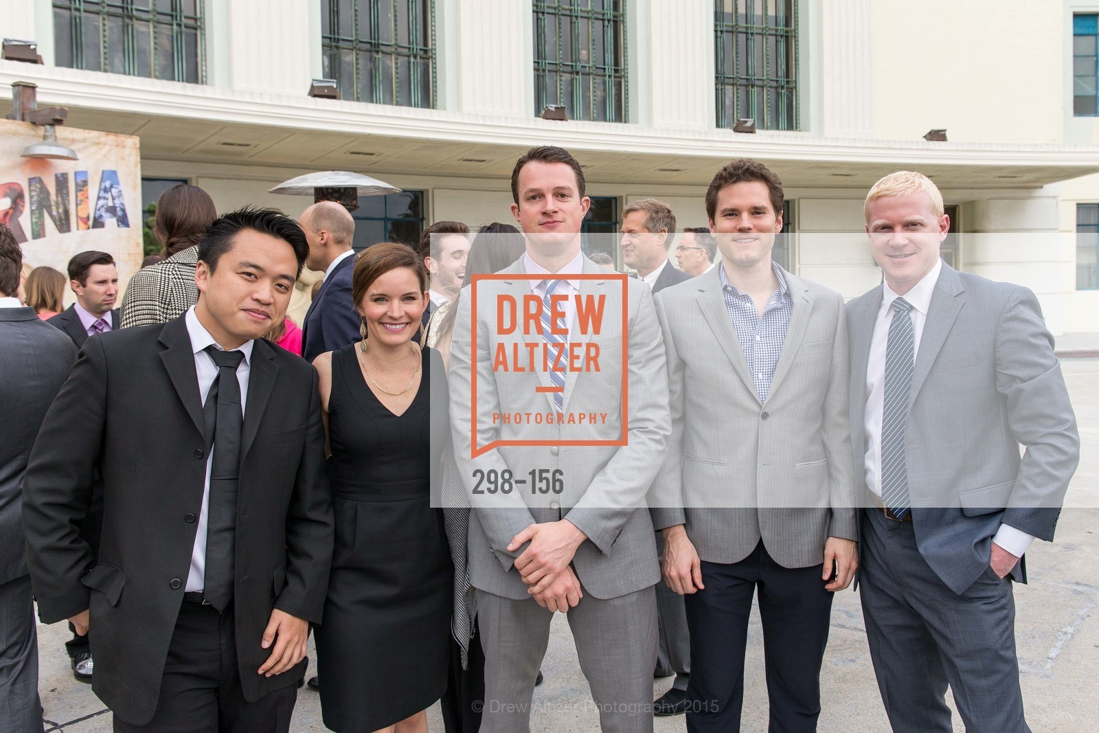 Sean Wang, Kristina Scarff, John Apgar, Weston Nichols, Travis Owen, California State Parks Foundation's GOLDEN POPPY AWARDS, Treasure Island Building One. 1 Avenue of the Palms, June 5th, 2015