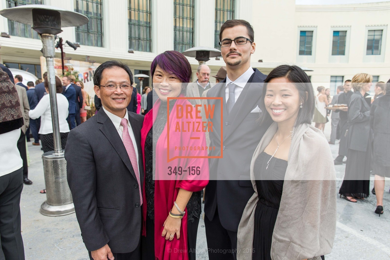Patrick Lee, Bo Lee, Christopher Tower, Erika Lee, California State Parks Foundation's GOLDEN POPPY AWARDS, Treasure Island Building One. 1 Avenue of the Palms, June 5th, 2015,Drew Altizer, Drew Altizer Photography, full-service agency, private events, San Francisco photographer, photographer california