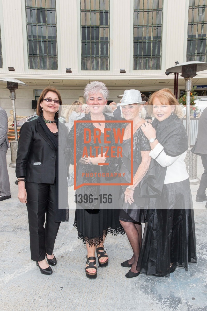 Ziba Marashi, Jennifer Jesperson, Georgia Smith, Wendy James, California State Parks Foundation's GOLDEN POPPY AWARDS, Treasure Island Building One. 1 Avenue of the Palms, June 5th, 2015