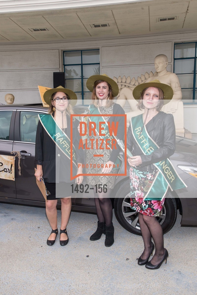 Stella Podolsky, Ashley Tittle, Nikki Mitchell, California State Parks Foundation's GOLDEN POPPY AWARDS, Treasure Island Building One. 1 Avenue of the Palms, June 5th, 2015