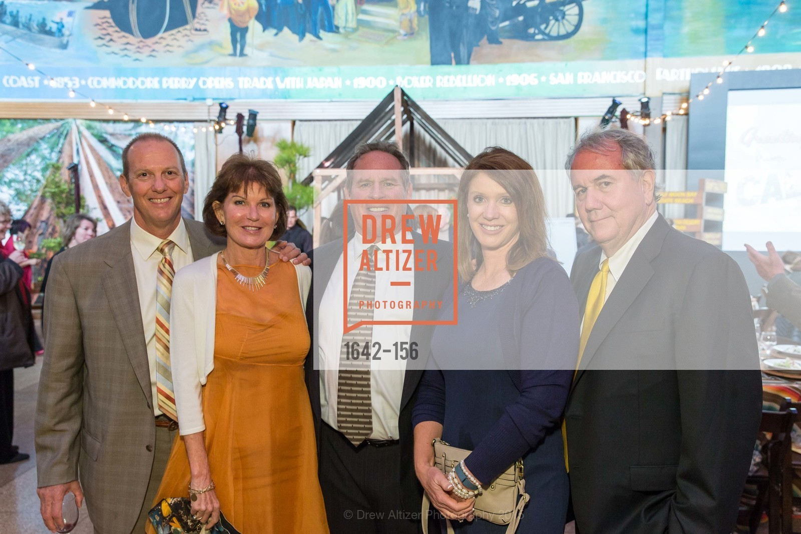 Chris Hulburd, Noreen Martin, Art Whitney, Caroline Beteta, Mike Gallagher, California State Parks Foundation's GOLDEN POPPY AWARDS, Treasure Island Building One. 1 Avenue of the Palms, June 5th, 2015,Drew Altizer, Drew Altizer Photography, full-service agency, private events, San Francisco photographer, photographer california