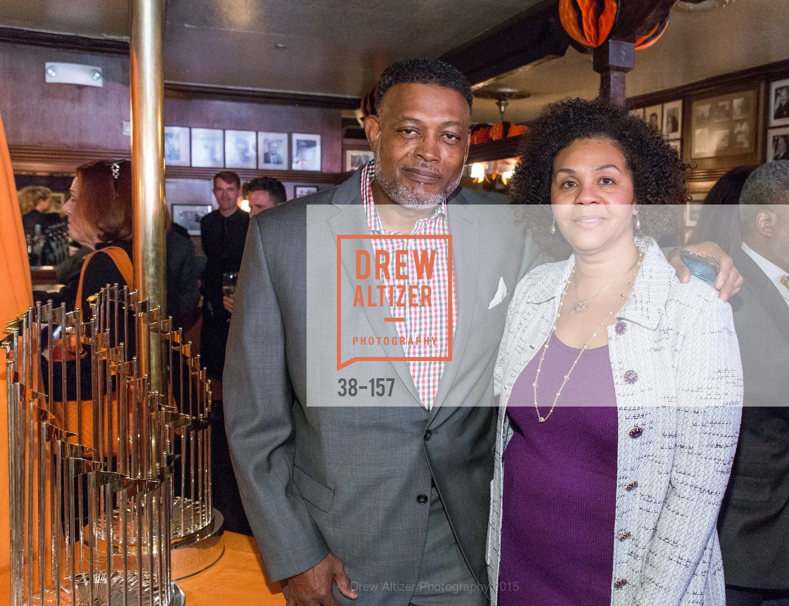 Robert Simms, Lola Whittle, 3-Ring Lunch Celebration honoring Renel Brooks-Moon, John's Grill. 63 Ellis Street, June 7th, 2015,Drew Altizer, Drew Altizer Photography, full-service agency, private events, San Francisco photographer, photographer california