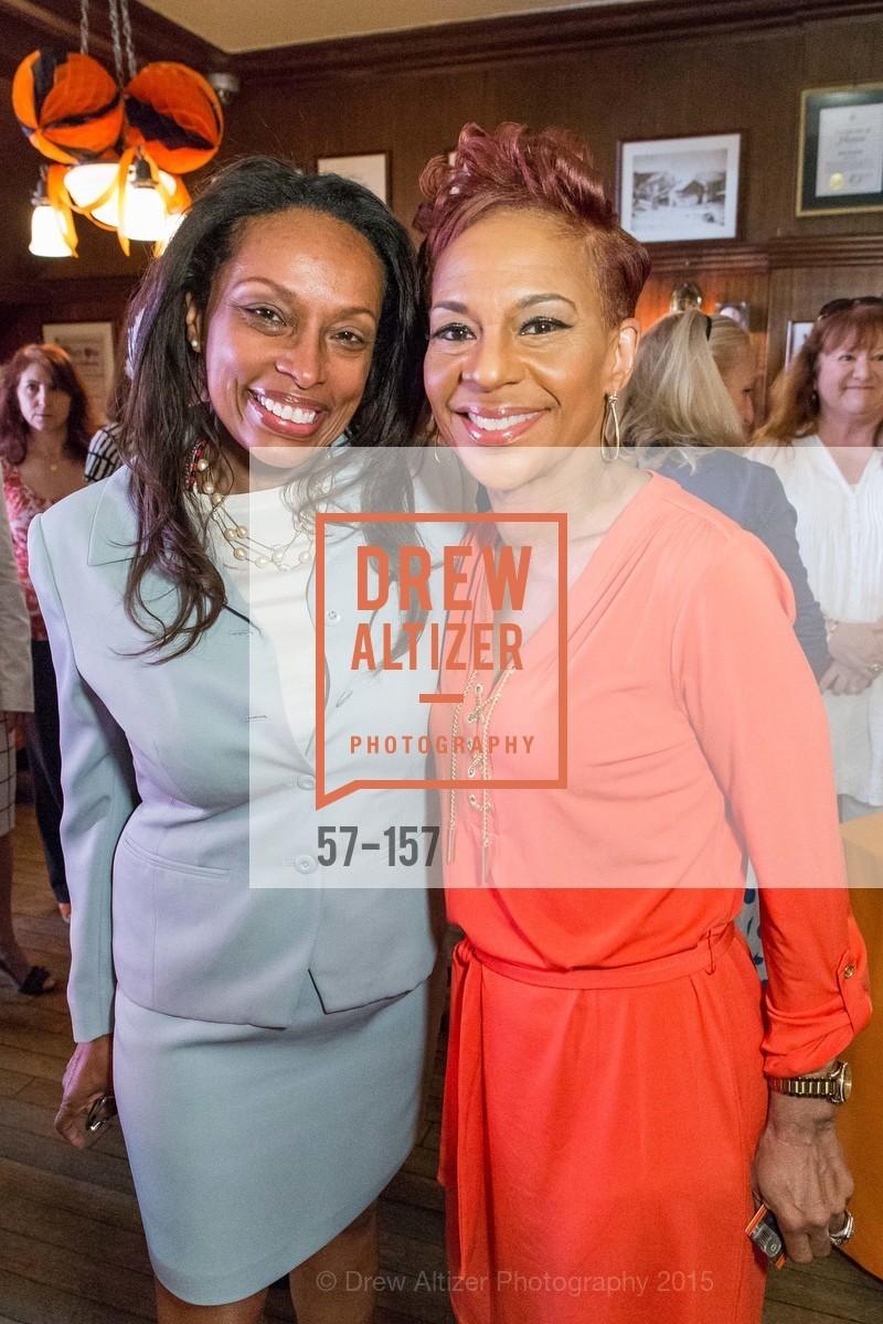 Kares Roye, Renel Brooks-Moon, 3-Ring Lunch Celebration honoring Renel Brooks-Moon, John's Grill. 63 Ellis Street, June 7th, 2015,Drew Altizer, Drew Altizer Photography, full-service agency, private events, San Francisco photographer, photographer california