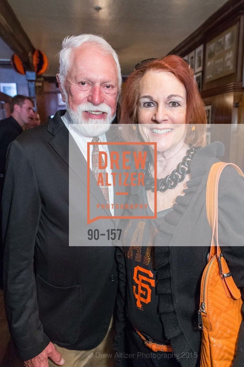 Lewis Sykes, Gayle Anderson, 3-Ring Lunch Celebration honoring Renel Brooks-Moon, John's Grill. 63 Ellis Street, June 7th, 2015,Drew Altizer, Drew Altizer Photography, full-service event agency, private events, San Francisco photographer, photographer California