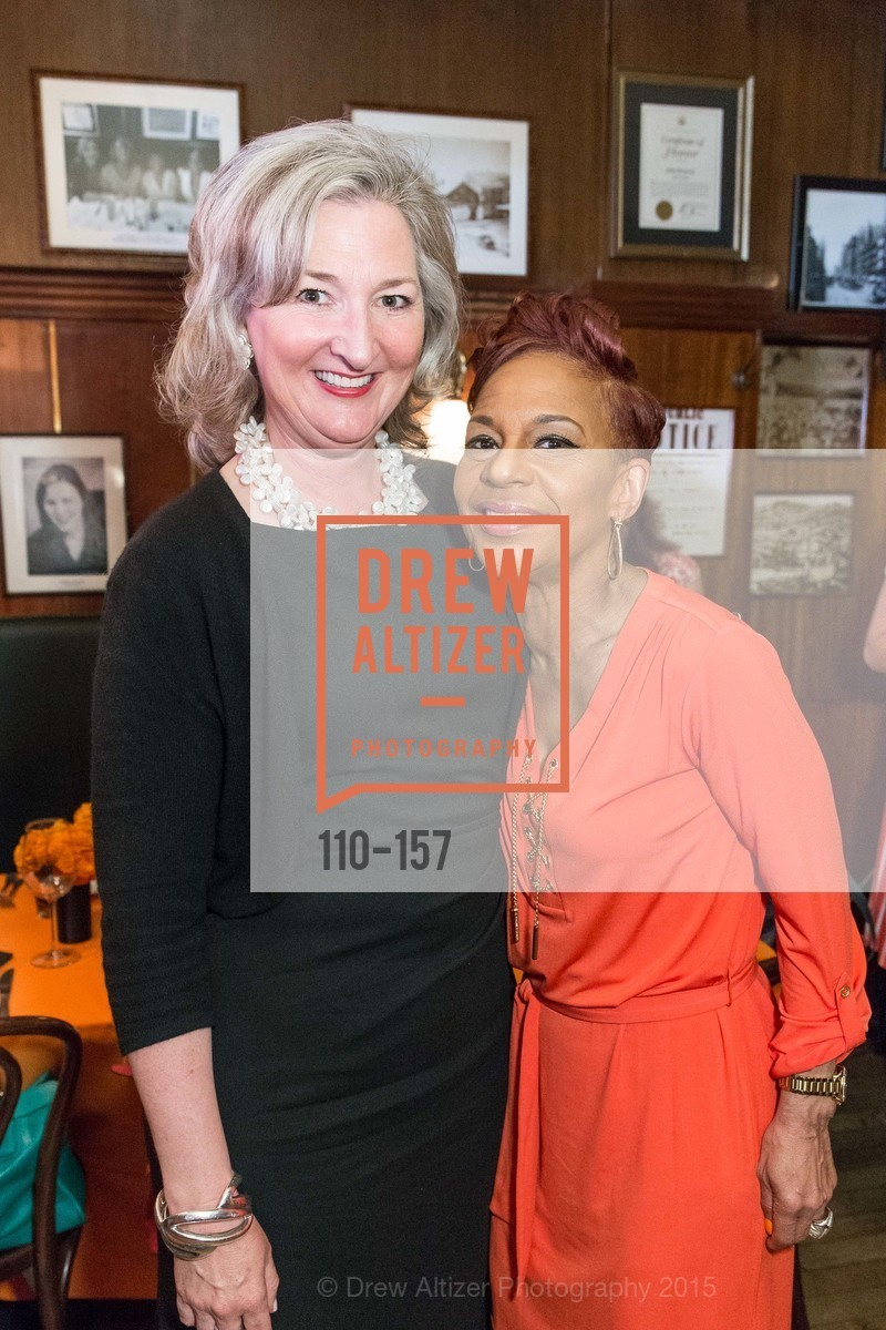 AnneMarie Conroy, Renel Brooks-Moon, 3-Ring Lunch Celebration honoring Renel Brooks-Moon, John's Grill. 63 Ellis Street, June 7th, 2015,Drew Altizer, Drew Altizer Photography, full-service agency, private events, San Francisco photographer, photographer california