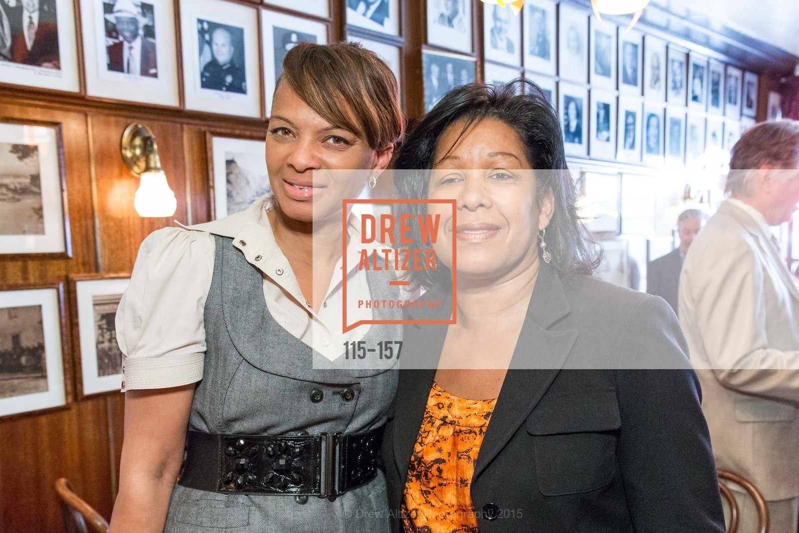 Shonda Scott, Kim Brandon, 3-Ring Lunch Celebration honoring Renel Brooks-Moon, John's Grill. 63 Ellis Street, June 7th, 2015,Drew Altizer, Drew Altizer Photography, full-service agency, private events, San Francisco photographer, photographer california