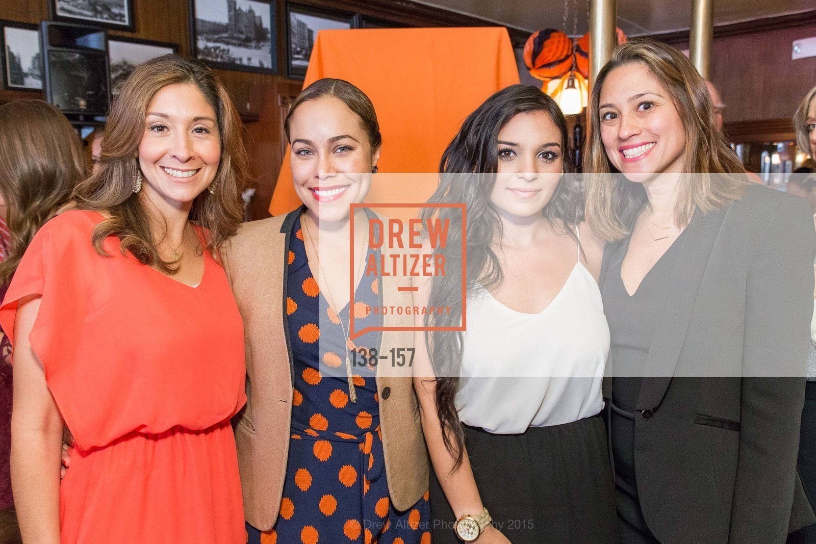 Melissa Strah, Marisa Rodriguez, Sydma Konstin, Maya Curtis, 3-Ring Lunch Celebration honoring Renel Brooks-Moon, John's Grill. 63 Ellis Street, June 7th, 2015,Drew Altizer, Drew Altizer Photography, full-service agency, private events, San Francisco photographer, photographer california