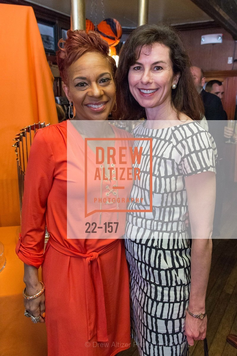 Renel Brooks-Moon, Celia Fushille, 3-Ring Lunch Celebration honoring Renel Brooks-Moon, John's Grill. 63 Ellis Street, June 7th, 2015,Drew Altizer, Drew Altizer Photography, full-service agency, private events, San Francisco photographer, photographer california