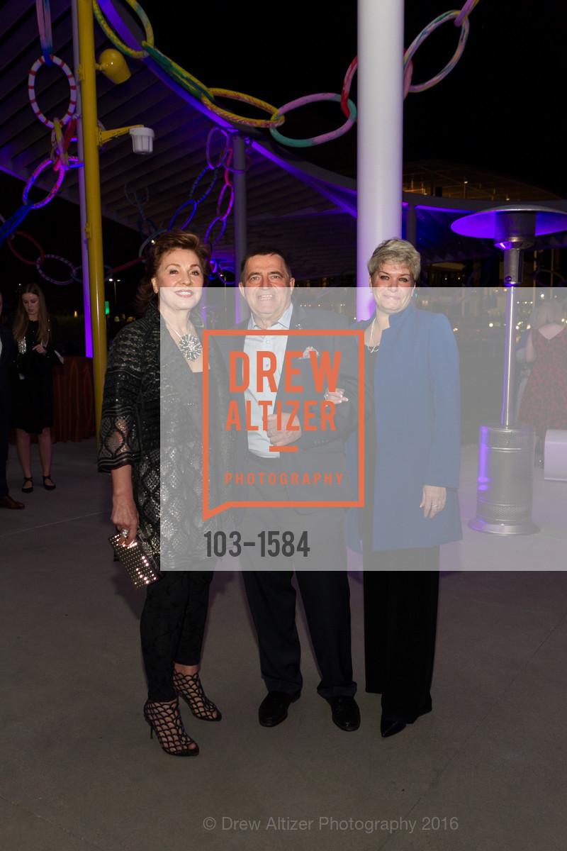 Maria Manetti Shrem, Alex Rozhneva, Tatiana Rozhneva, Director's Debut, Manetti Shrem Museum of Art. Old Davis Road at Alumni Lane, November 12th, 2016