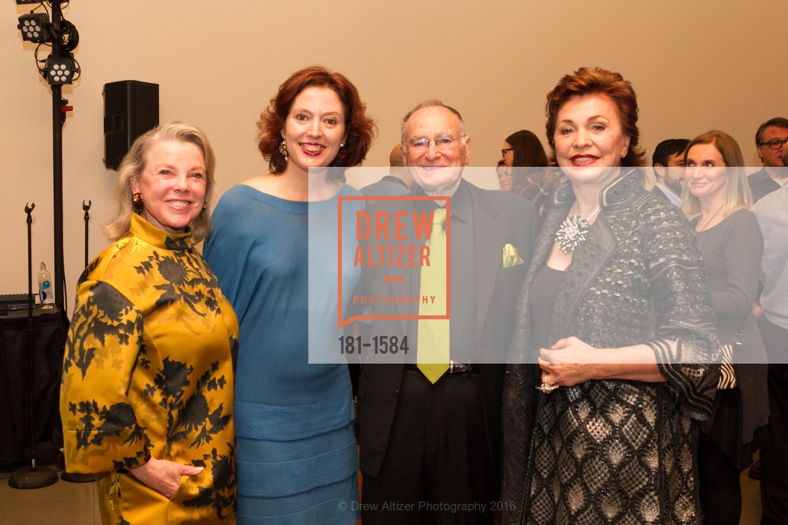 Jeanne Lawrence, Rachel Teagle, Jan Shrem, Maria Manetti Shrem, Photo #181-1584