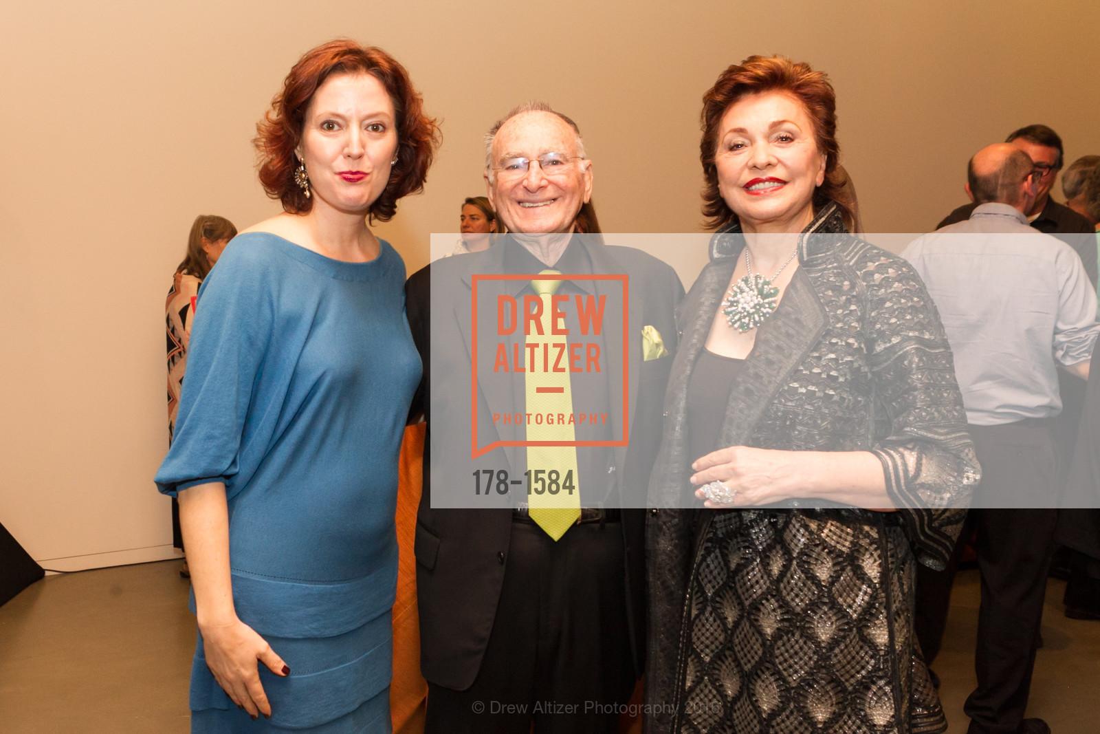 Rachel Teagle, Jan Shrem, Maria Manetti Shrem, Photo #178-1584