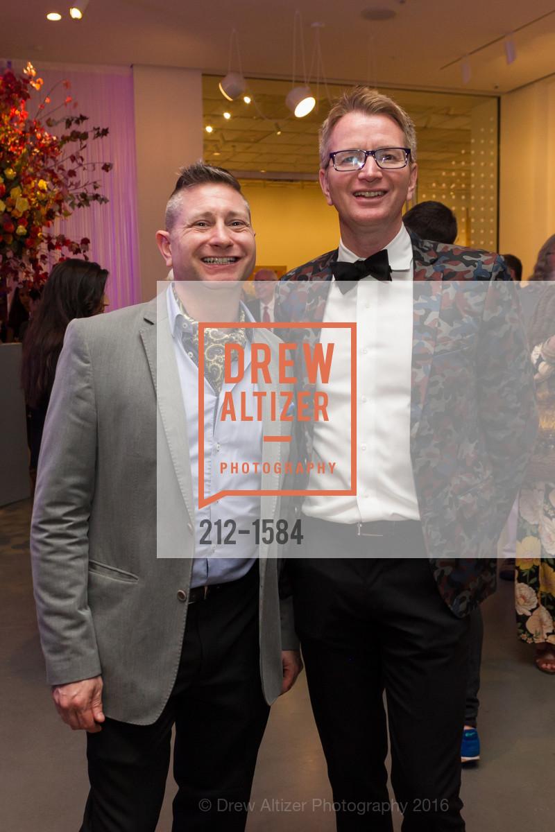 Craig Fonger, John Zowine, Director's Debut, Manetti Shrem Museum of Art. Old Davis Road at Alumni Lane, November 12th, 2016