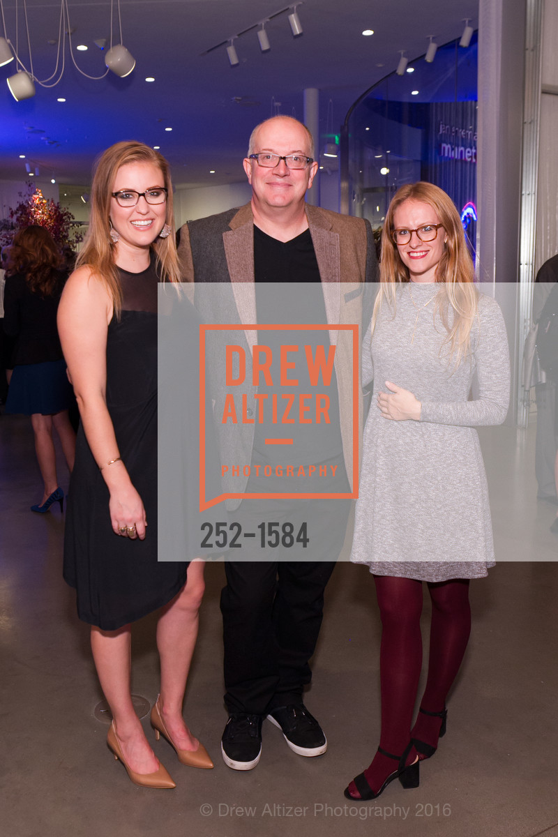 Arielle Hardy, Ethan Wiley, Piper Milton, Director's Debut, Manetti Shrem Museum of Art. Old Davis Road at Alumni Lane, November 12th, 2016