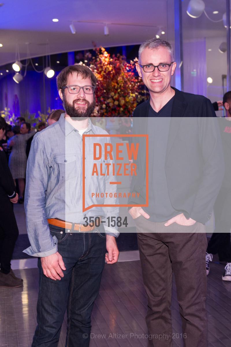 Ryan Keerns, Dan Yoder, Director's Debut, Manetti Shrem Museum of Art. Old Davis Road at Alumni Lane, November 12th, 2016