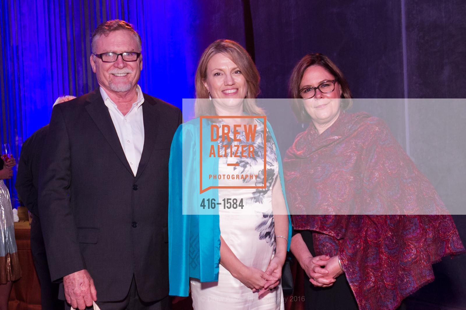 Jim Swanson, Lisa Mealoy, Christina Swanson, Director's Debut, Manetti Shrem Museum of Art. Old Davis Road at Alumni Lane, November 12th, 2016