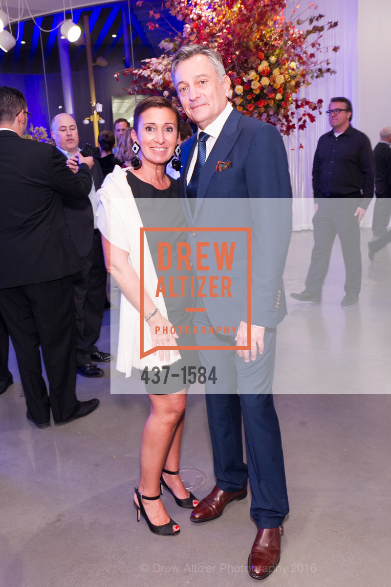 Ludovica DeAmbrogi, Paul Weaver, Director's Debut, Manetti Shrem Museum of Art. Old Davis Road at Alumni Lane, November 12th, 2016