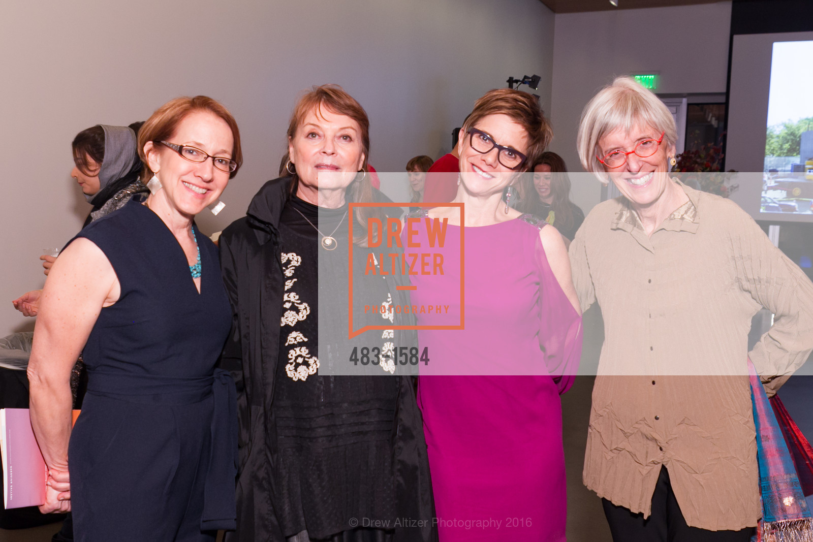 Sarah Teagle, Twila Thiebaud, Dorsey Griffith, Gina Werfel, Director's Debut, Manetti Shrem Museum of Art. Old Davis Road at Alumni Lane, November 12th, 2016