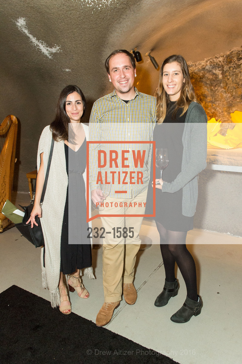 Toni Graziano, Justin Wolfe, Kira Cooper, Celebration Launch Cellar 47, Pine Ridge Vineyards. 5901 Silverado Trail, November 13th, 2016