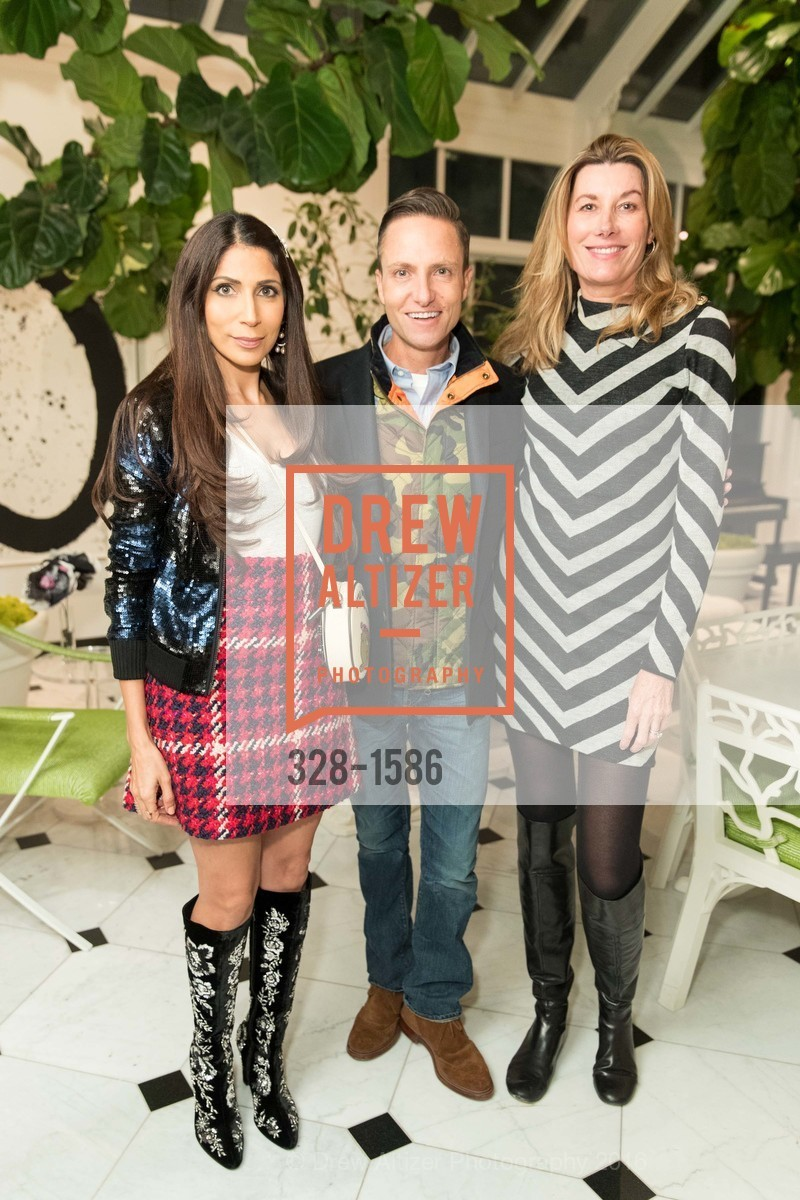 Sobia Shaikh, Ken Fulk, Susan Dunlevy, Veronica Beard San Francisco Pop-Up Shop Launch Event, Private Residence, November 15th, 2016