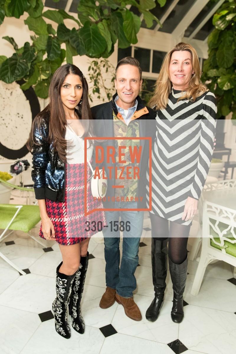 Sobia Shaikh, Ken Fulk, Susan Dunlevy, Veronica Beard San Francisco Pop-Up Shop Launch Event, Private Residence, November 15th, 2016