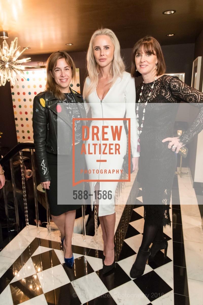 Alison Pincus, Vanessa Getty, Allison Speer, Veronica Beard San Francisco Pop-Up Shop Launch Event, Private Residence, November 15th, 2016