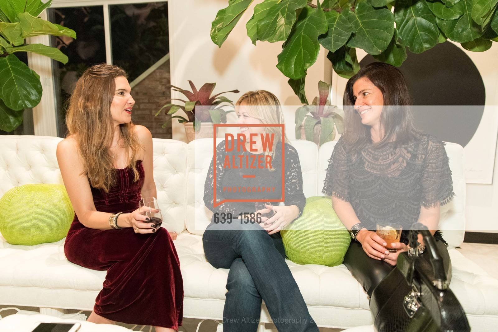 Veronica Miele Beard, Christina Dunning, Nancy Kaye, Veronica Beard San Francisco Pop-Up Shop Launch Event, Private Residence, November 15th, 2016