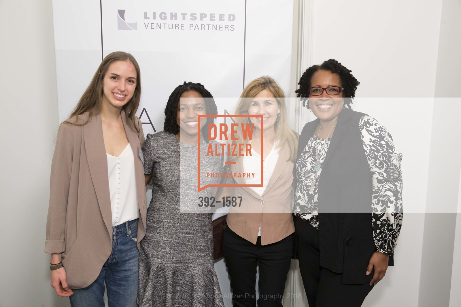 Alana Anderson, Stacy Brown-Philpot, Susan Lovegren, Gwen Tillman, Photo #392-1587