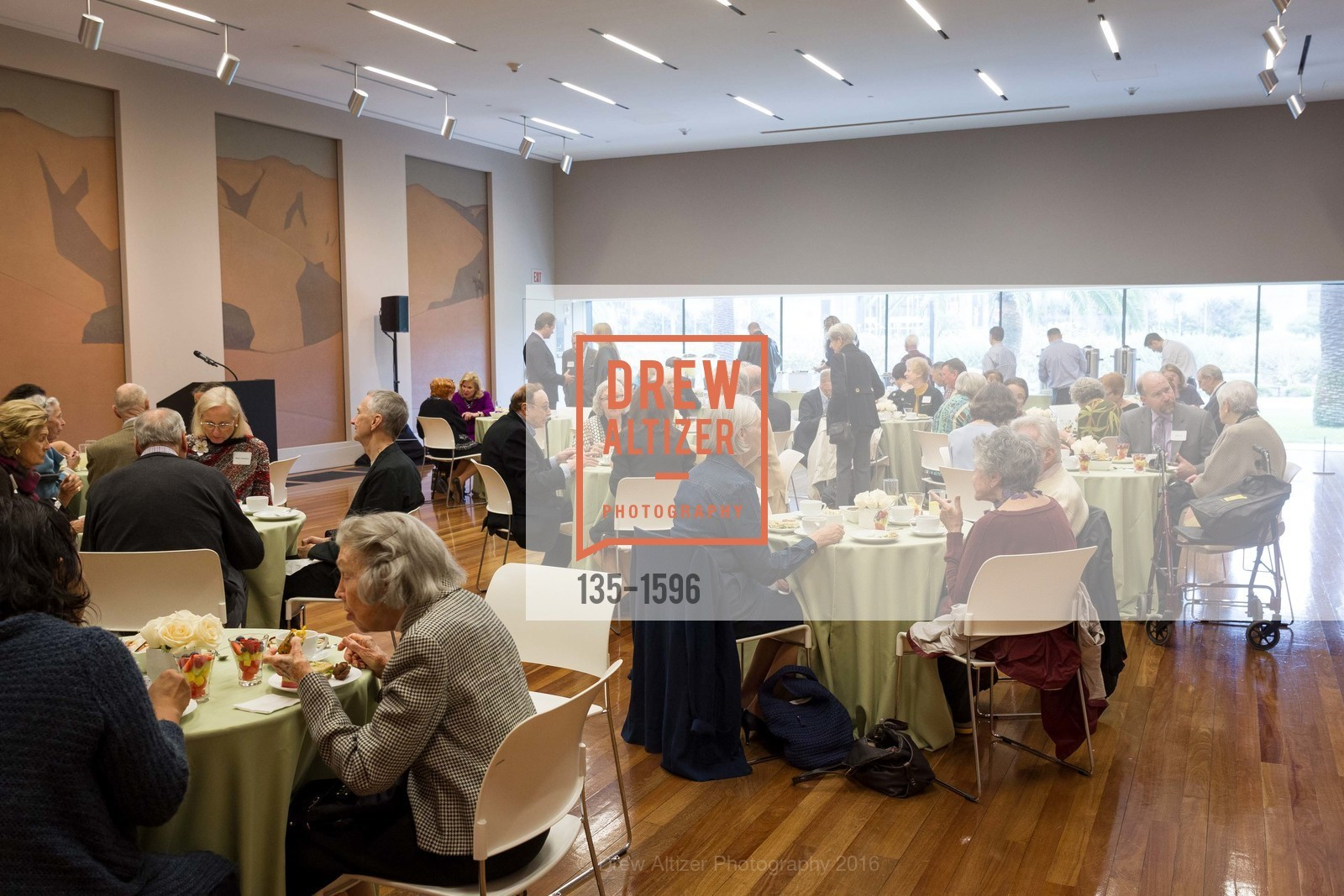 Top Picks, Legacy Tea at the de Young Museum, November 15th, 2016, Photo