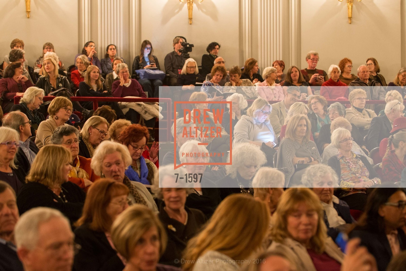 Atmosphere, A Conversation with Madeleine Albright at the Legion of Honor, Legion of Honor. 2525 Van Ness St, November 16th, 2016
