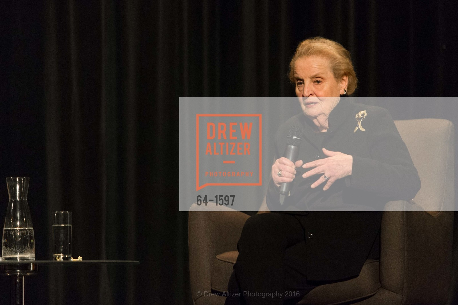 Tom DeCaigny, Madeleine Albright, Photo #64-1597