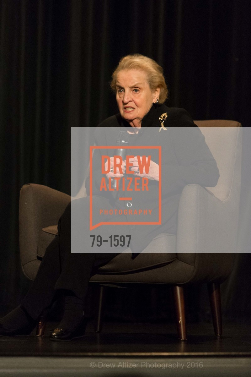 Madeleine Albright, Photo #79-1597