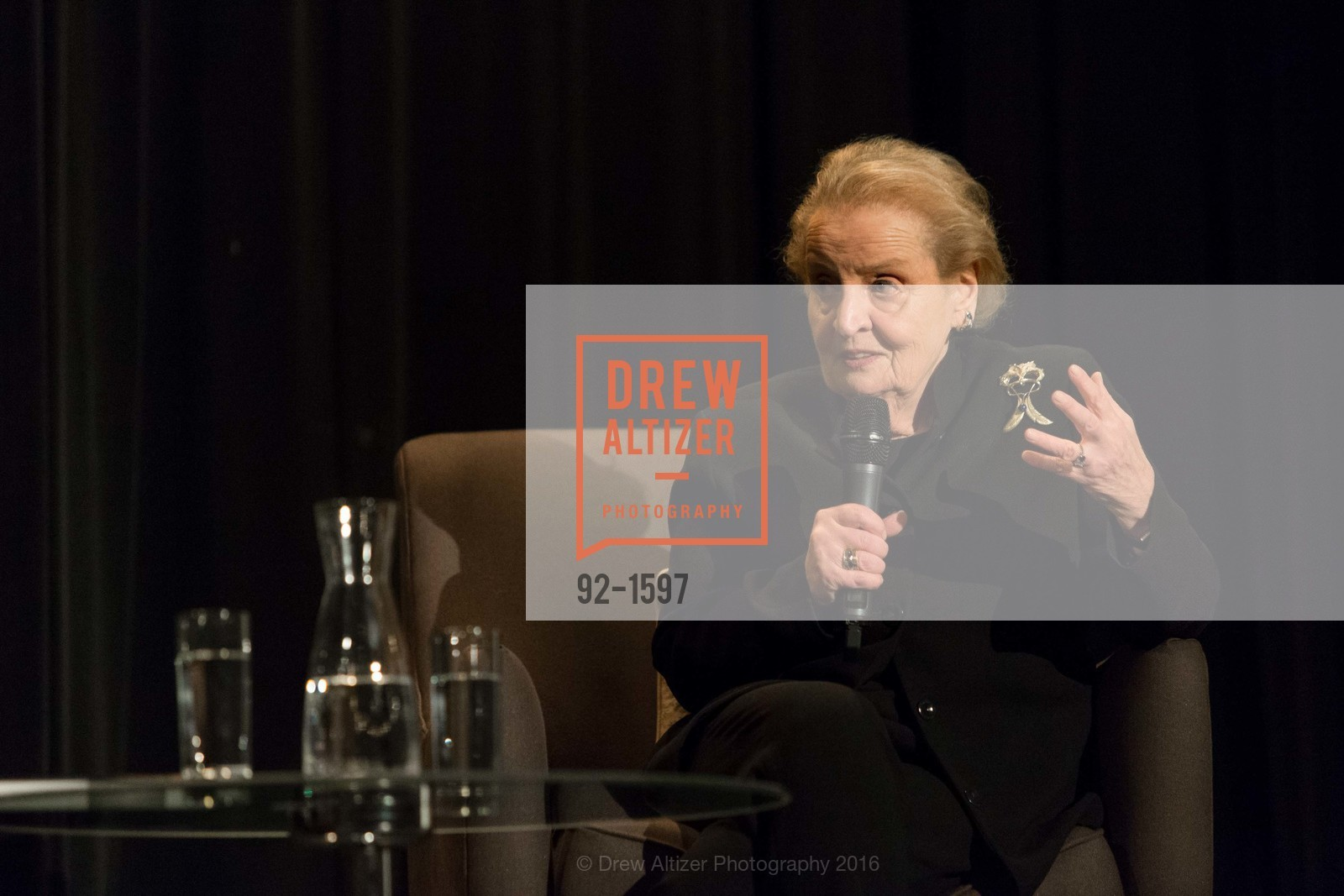 Madeleine Albright, Photo #92-1597