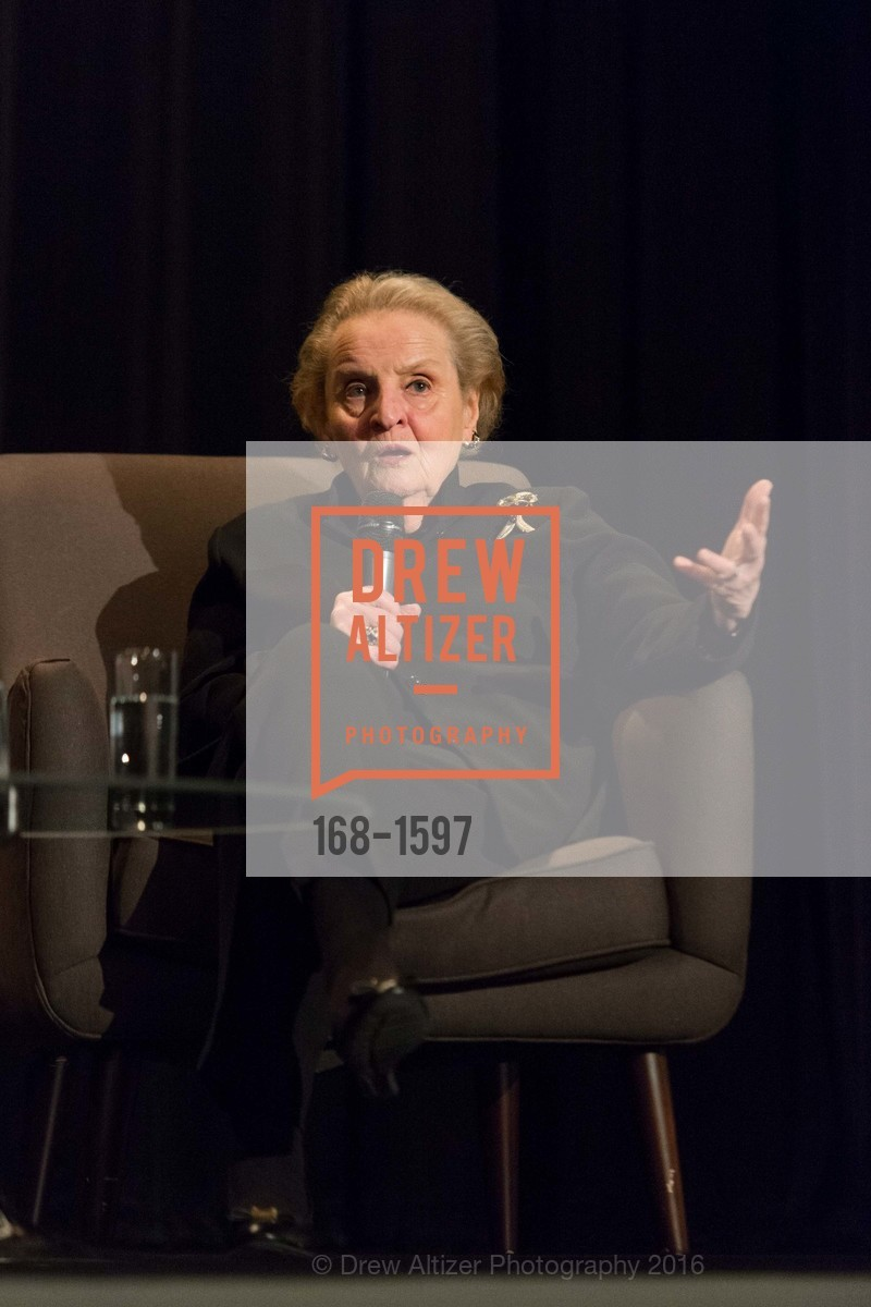 Madeleine Albright, A Conversation with Madeleine Albright at the Legion of Honor, Legion of Honor. 2525 Van Ness St, November 16th, 2016