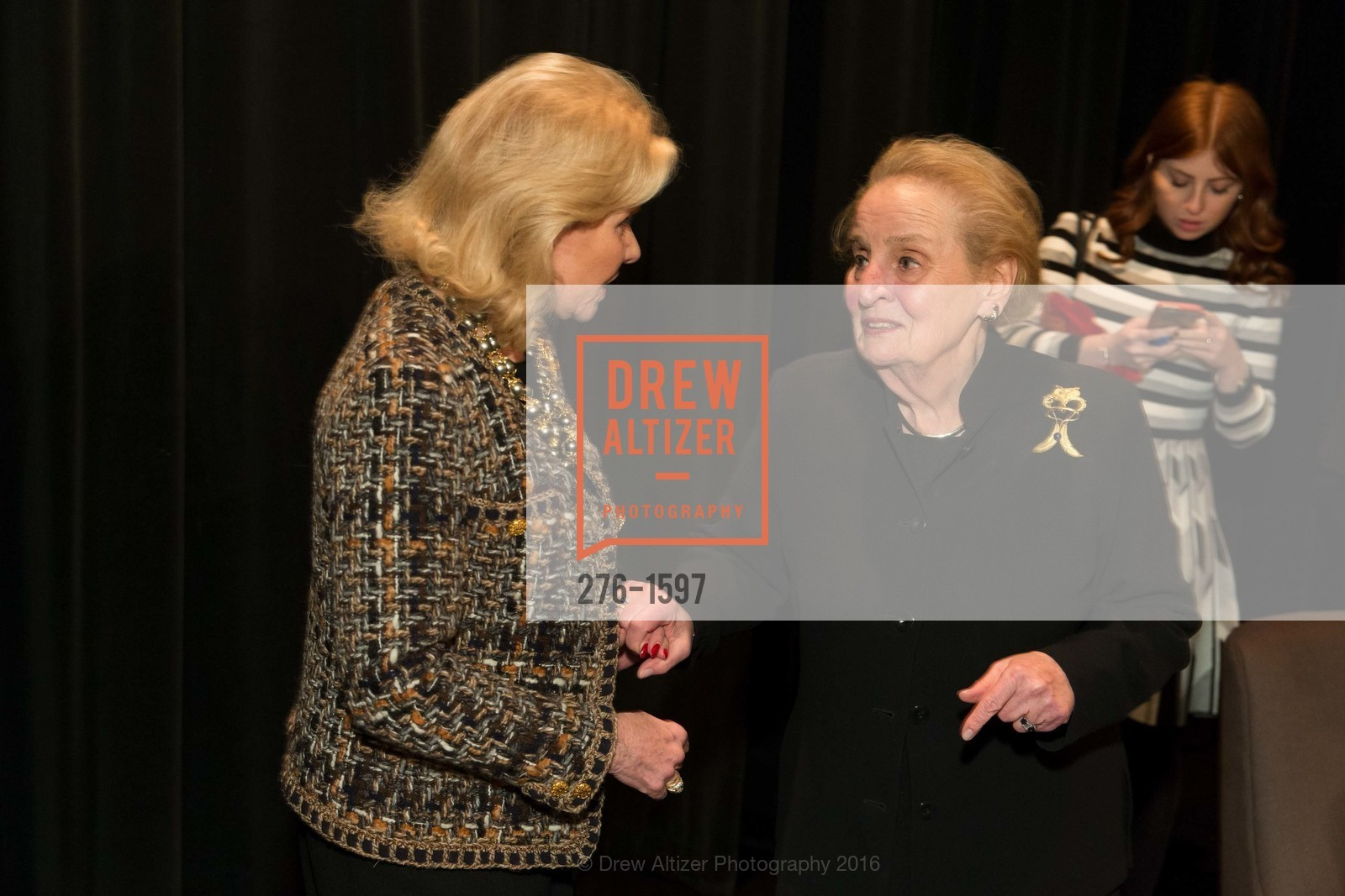 Dede Wilsey, Madeleine Albright, Photo #276-1597