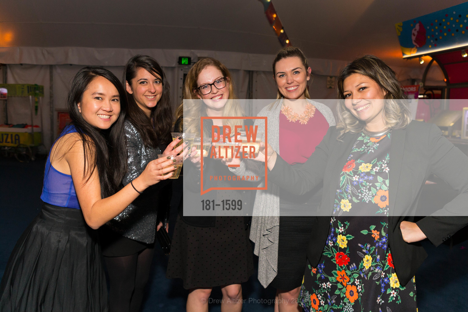 Meg Panlaqui, Kyra Geithman, Mary Young, Chantal Lasher, Dianna Cavagnaro, Photo #181-1599