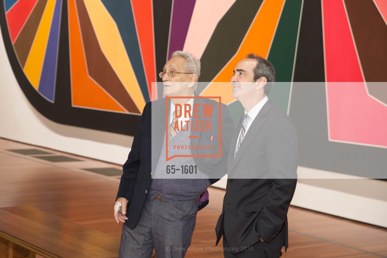 Frank Stella, Bruce Samuels, Photo #65-1601